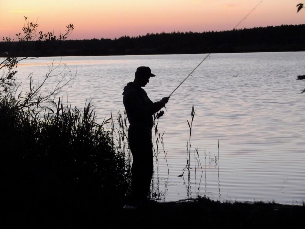 Прекрасный закат на о. Брызгуново, Собинский район 02