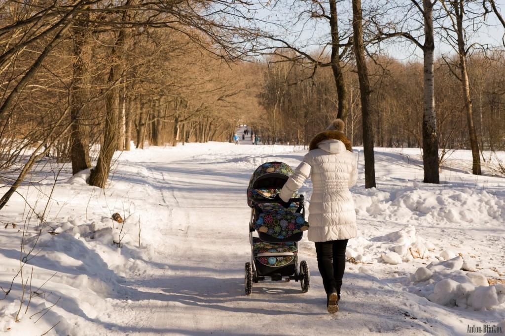 Прогулка в парке Дружба 01