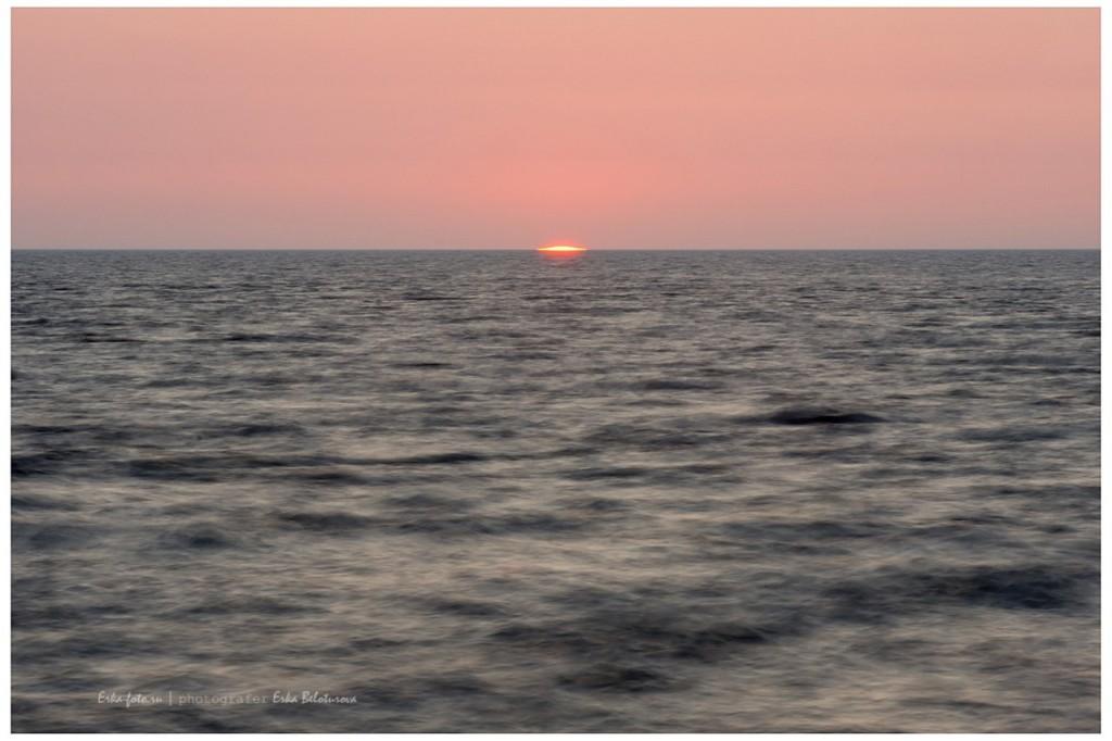 Рассвет на Белом море, дождь над озером Куйто, рассвет на Ладоге 01