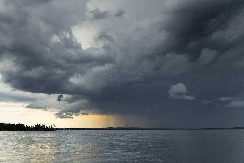 Рассвет на Белом море, дождь над озером Куйто, рассвет на Ладоге 02