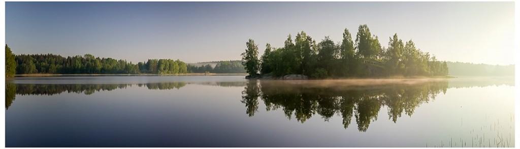 Рассвет на Белом море, дождь над озером Куйто, рассвет на Ладоге 05
