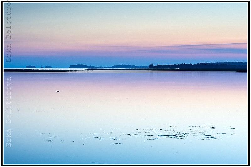 Рассвет на Белом море, дождь над озером Куйто, рассвет на Ладоге 07