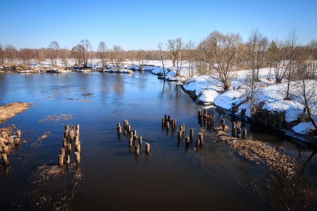 Река Судогда, 27 марта 01