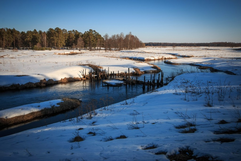 Река Судогда, 27 марта 03