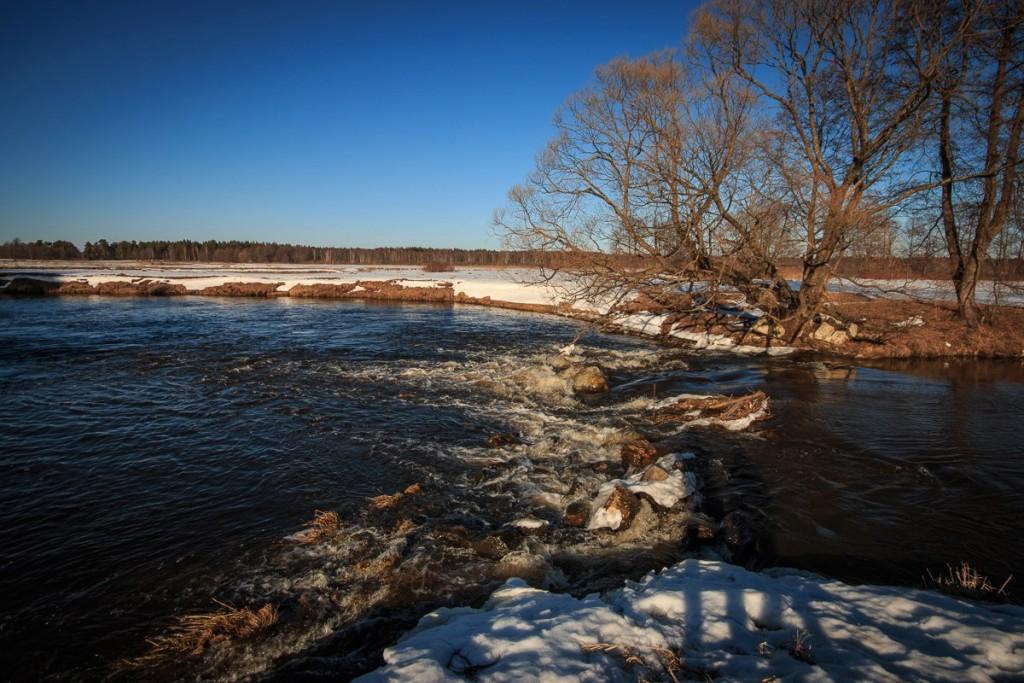 Река Судогда, 27 марта 05