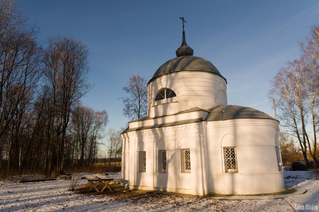 Свято-Троицкий храм. Село Дубки 03