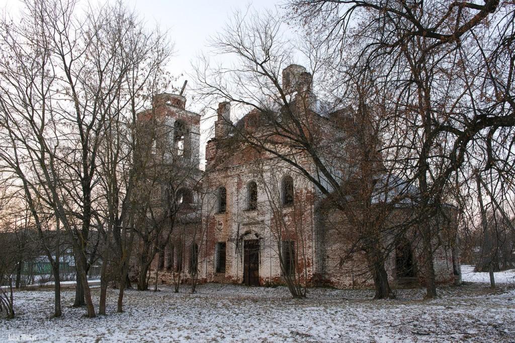 Село Станки, Вязниковский р-н. Церковь Успения Пресвятой Богородицы
