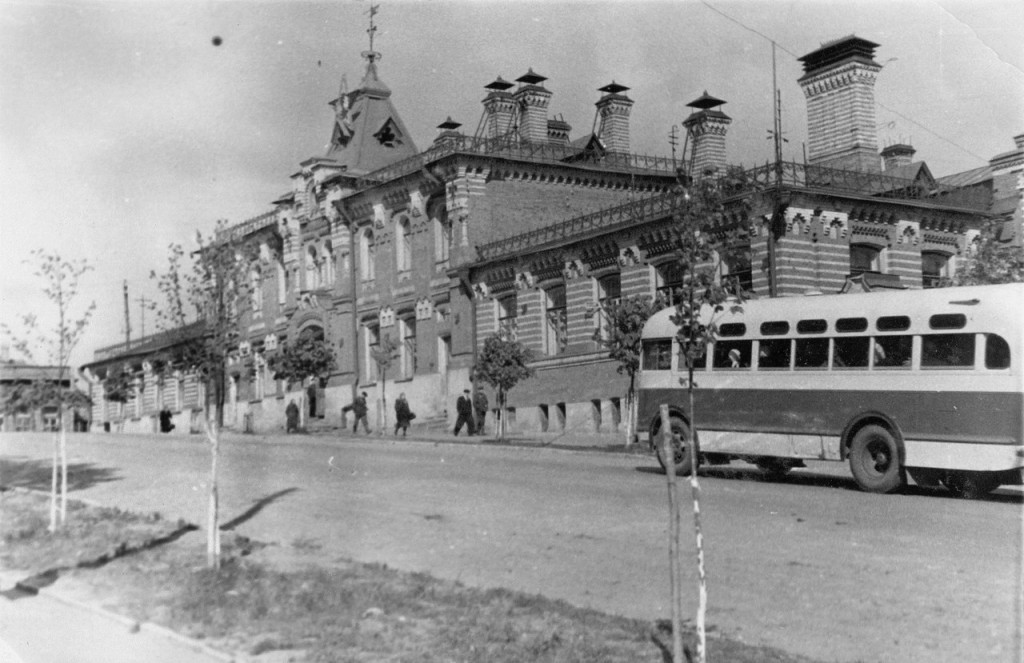 Старые автобусы Владимира 1950-е, 60-е, 80-е годы