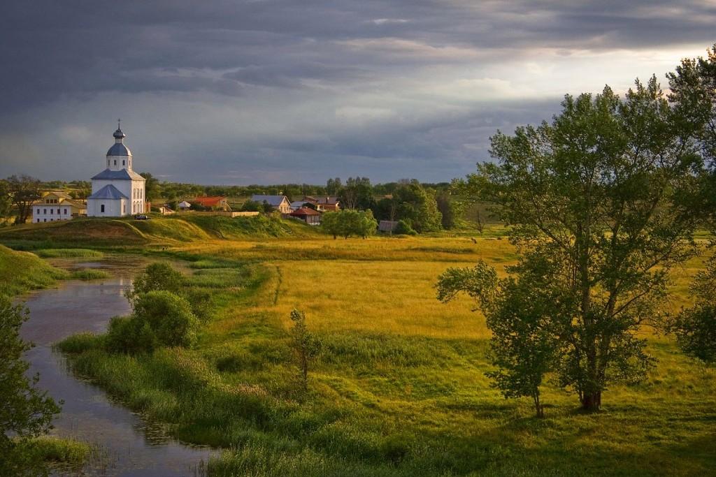 Суздальская классическая с Ильинской и заливными лугами © OD