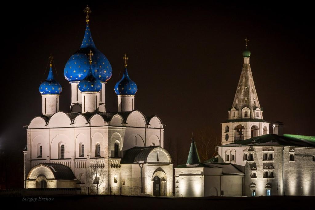 Суздальский Кремль. Март 2016