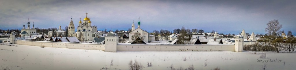 Суздальский Свято-Покровский Суздальский женский монастырь, панорама