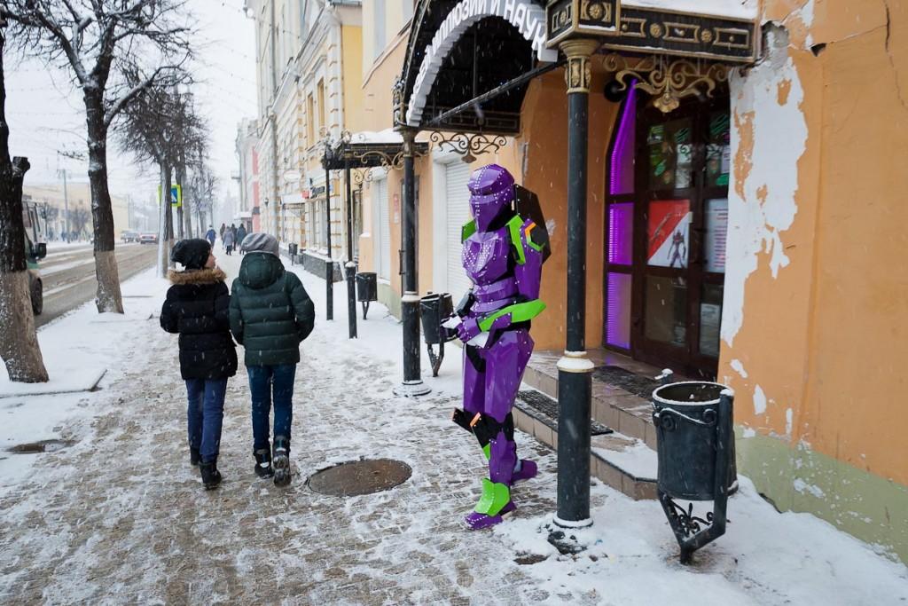 Ферваль на главной улице Владимира 06
