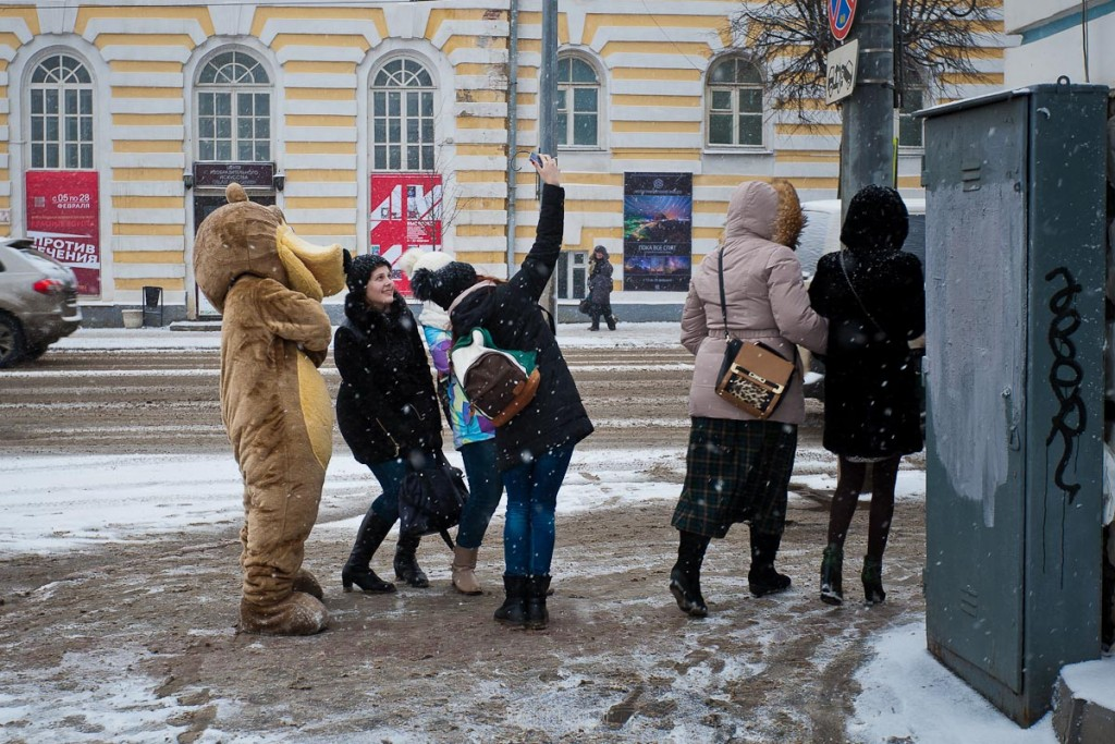 Ферваль на главной улице Владимира 07