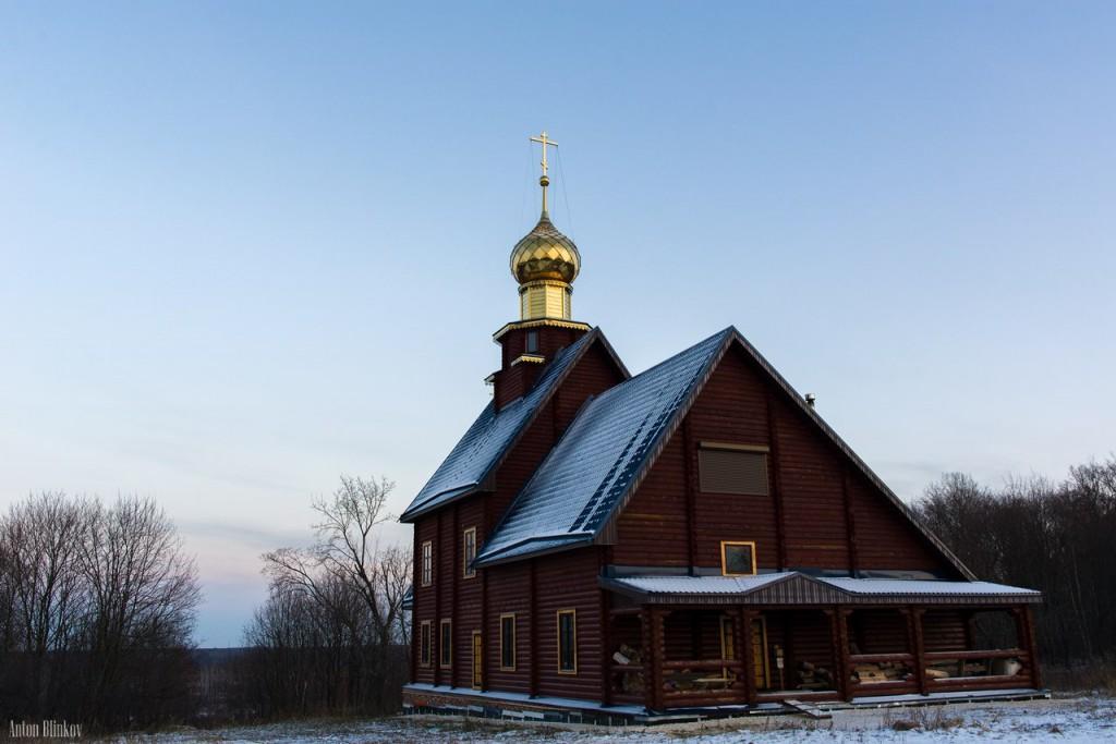 Церковь Иконы Казанской Божией Матери в Налескино