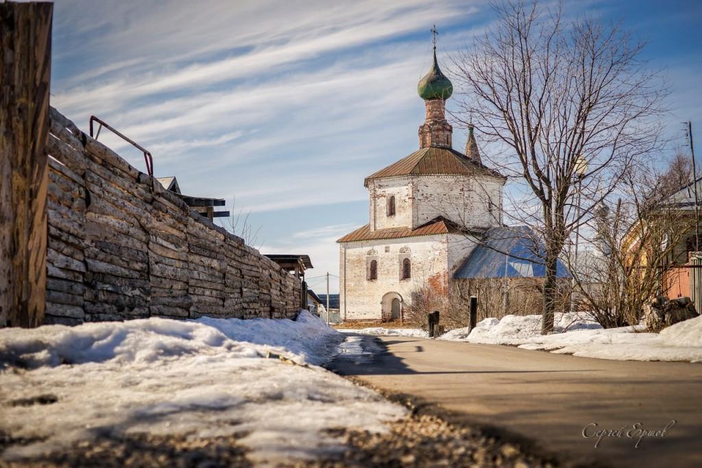 Церковь Косьмы и Дамиана в Коровниках. Суздаль 01