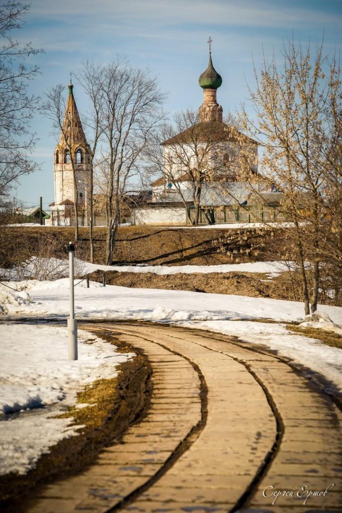 Церковь Косьмы и Дамиана в Коровниках. Суздаль 03