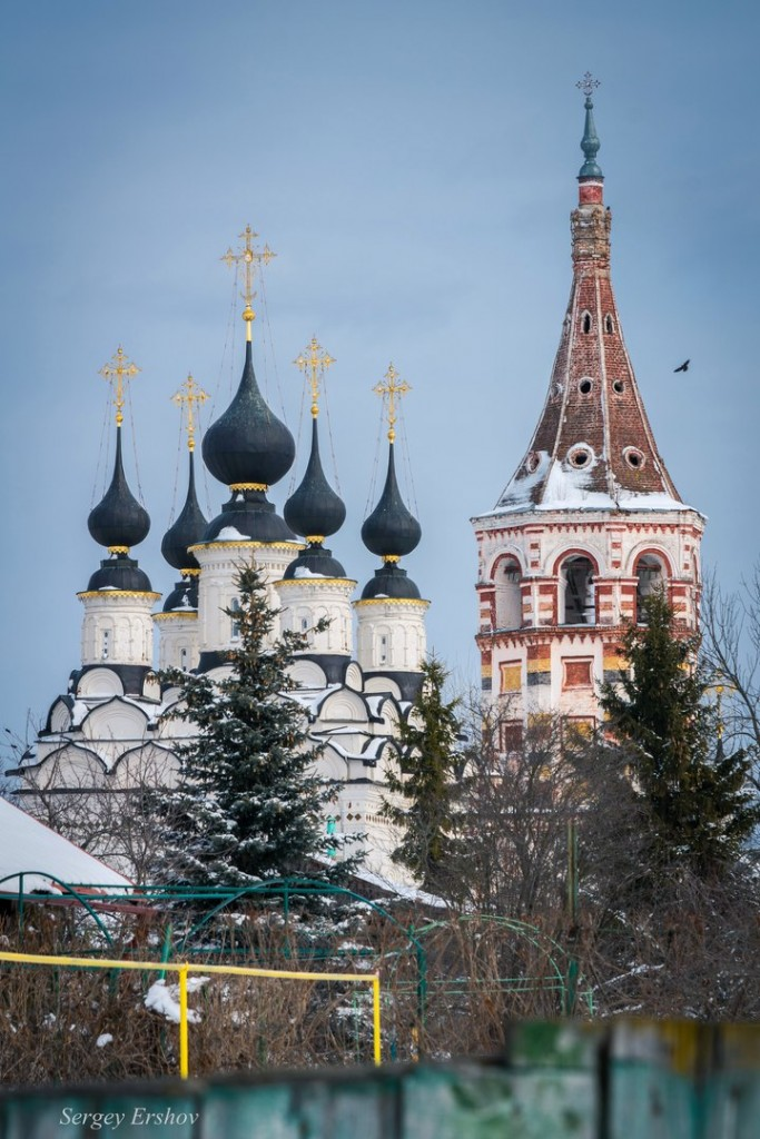 Церковь Лазаря Праведного Воскрешения или Лазаревская церковь. Суздаль