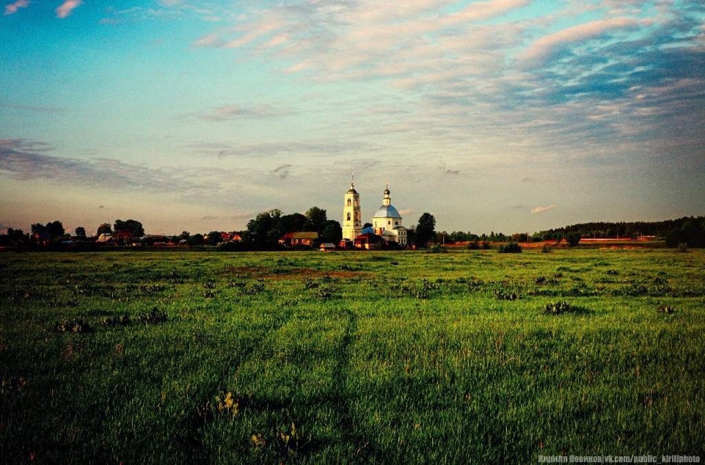 Церковь Николая Чудотворца в с. Устье, Собинский р-он, Владимирская обл.