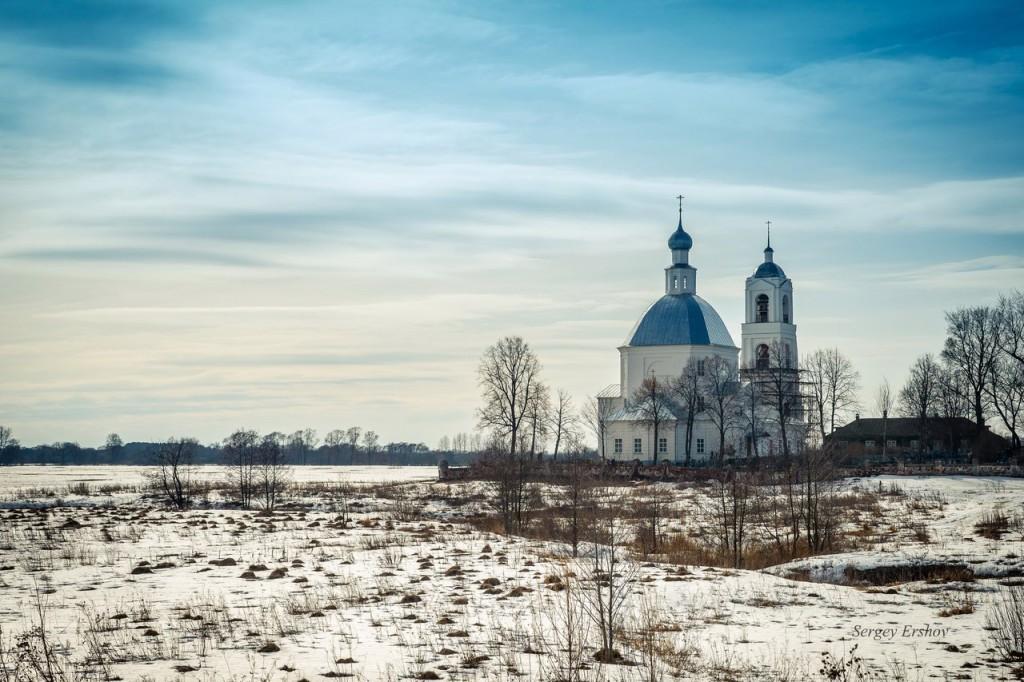 Церковь Святителя Николая. Село Устье