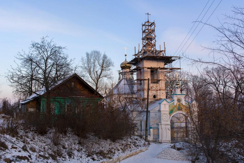 Церковь Смоленской иконы Божией матери. село Малые Липки, Вязниковский р-н.