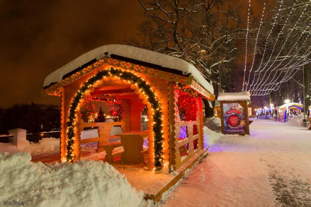 Ярмарочные домики во Владимире в Новый Год 02