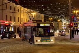Городской электротранспорт: Владимирский троллейбус