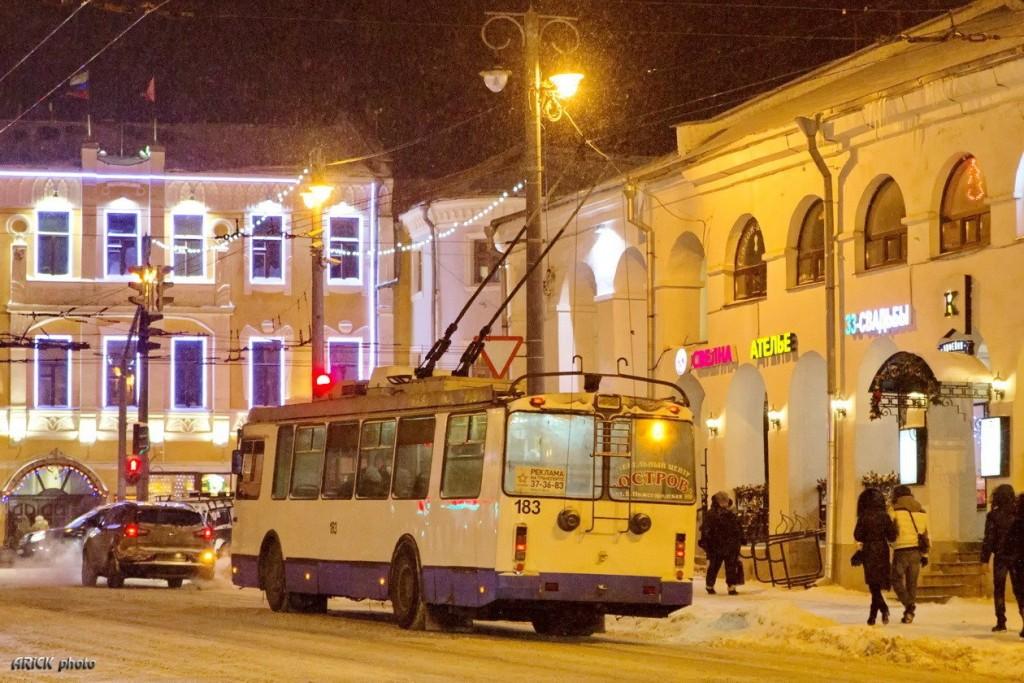 г. Владимир, ЗиУ-682Г-016.02 № 183 — маршрут 8