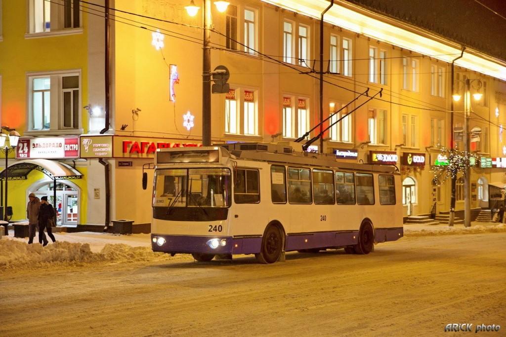 г. Владимир, ЗиУ-682Г-016.02 № 240 — маршрут 7