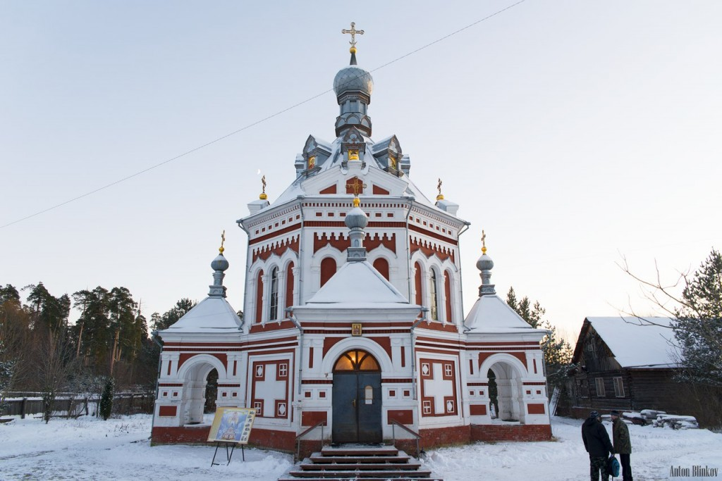г. Гусь-Хрустальный, Часовня Великомученицы Варвары 01