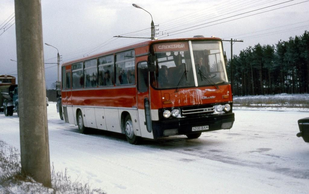 Ikarus 256 № 4300 ВЛМ Судогодское шоссе.