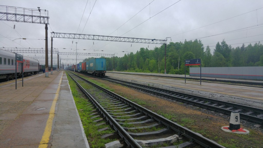 Вековка, поезд из Мурома 6.35