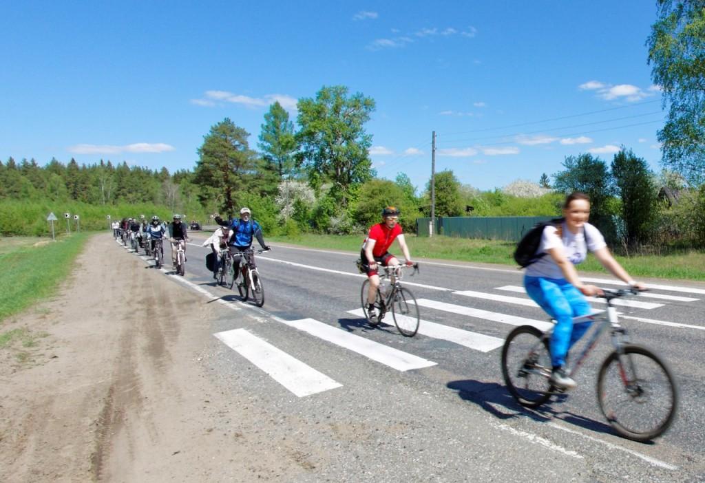 Велопробег, 100 км в честь 100-летия ЗиДа 03