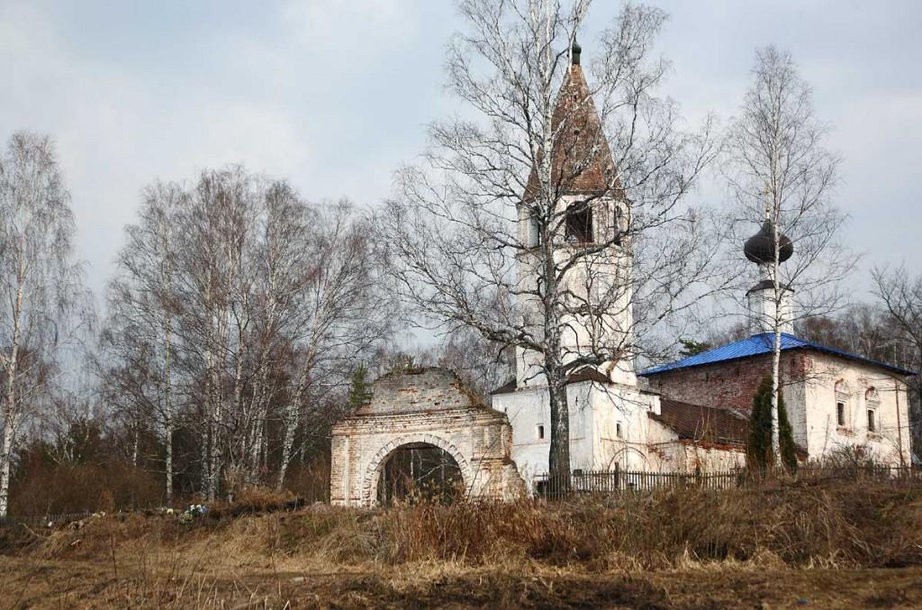 Весеннее. Село Любец Ковровского района 06