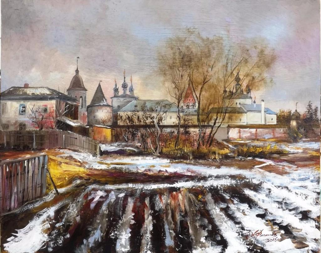 Весенний день в Юрьеве, автор - Александр Филиппов