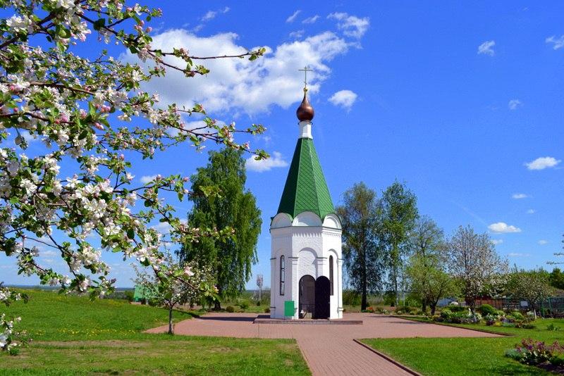 Весна в Спасо-Преображенском монастыре в Муроме 03