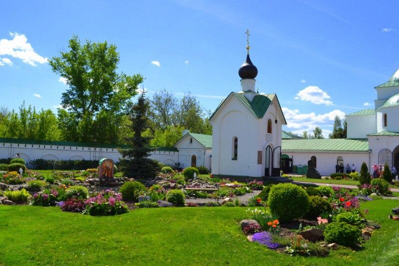 Весна в Спасо-Преображенском монастыре в Муроме 05