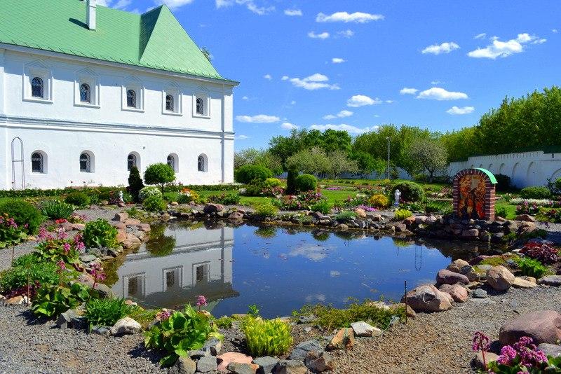 Весна в Спасо-Преображенском монастыре в Муроме 06