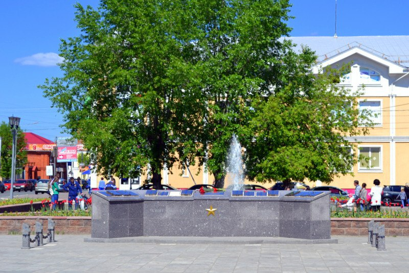 Весна. Площадь Победы в Муроме 02