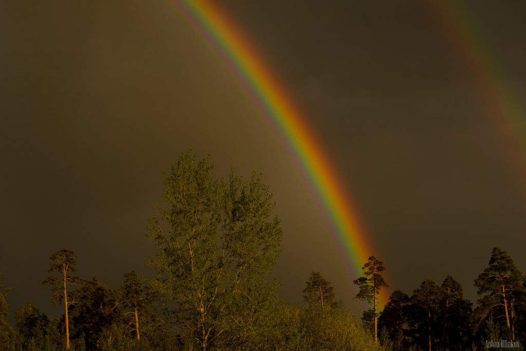 Вечерняя радуга в г. Гусь-Хрустальный 03