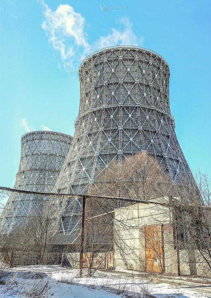 Владимирские башни-близнецы 05