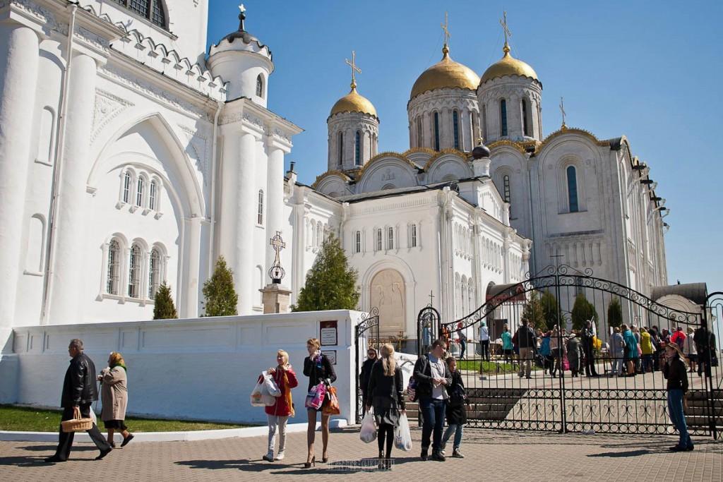 Владимир, подготовка к Пасхе 12
