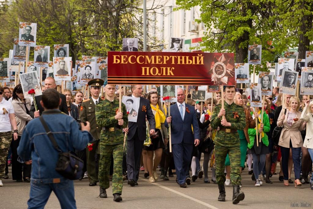 Возложение цветов ко дню Победы в г. Гусь-Хрустальный 05