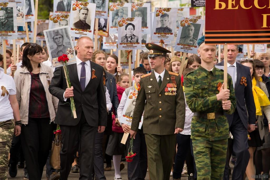 Возложение цветов ко дню Победы в г. Гусь-Хрустальный 06