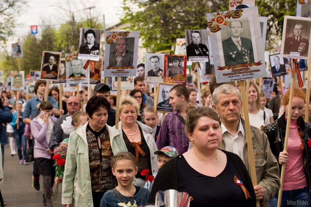 Возложение цветов ко дню Победы в г. Гусь-Хрустальный 09