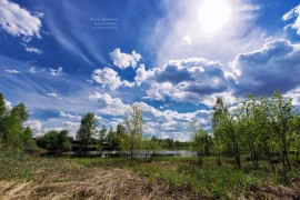 Волосатое озеро. п. Новый Быт, Селивановский район