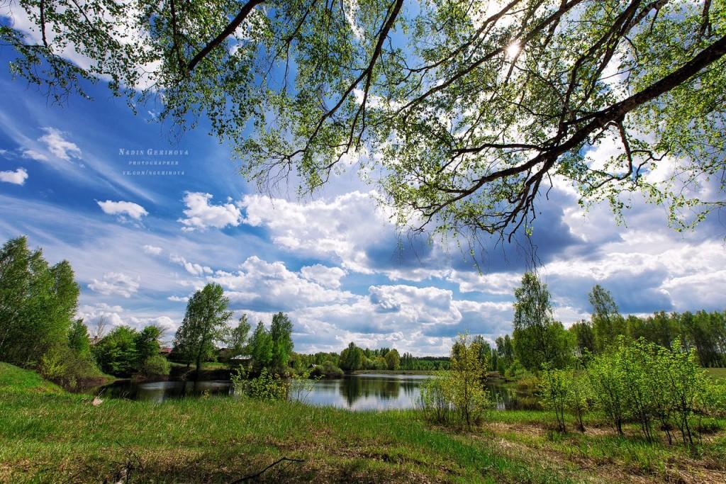 Волосатое озеро. п. Новый Быт 03