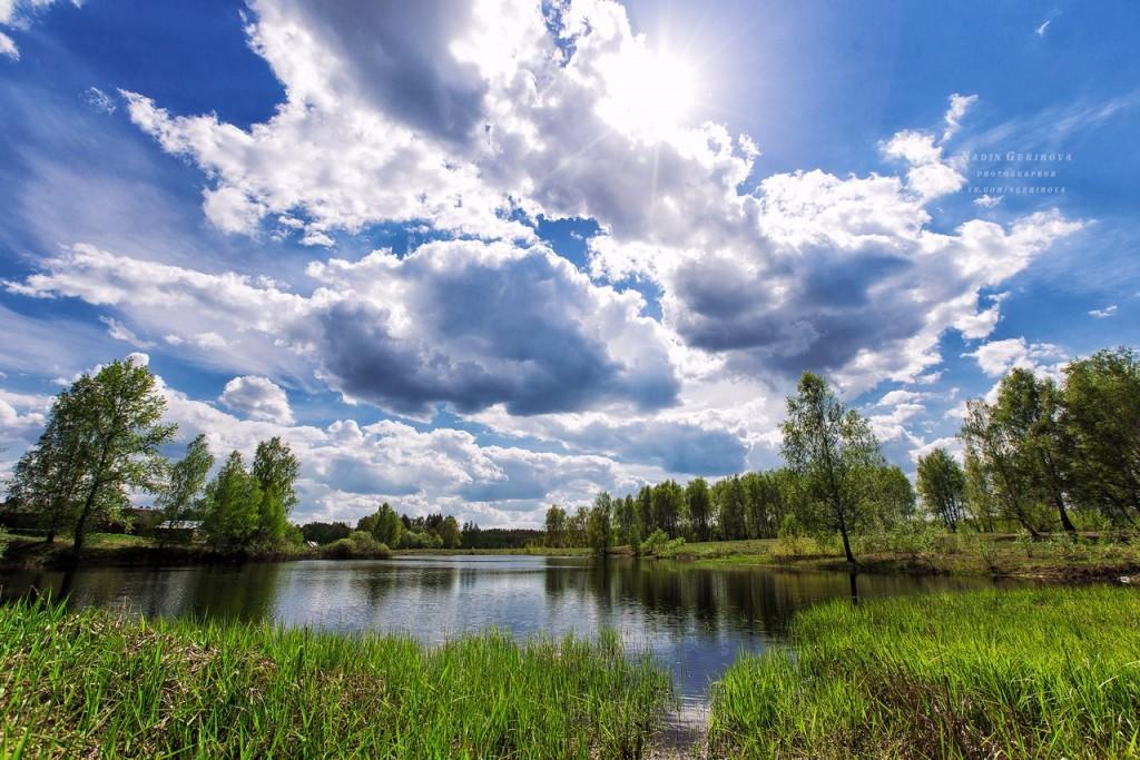 Волосатое озеро. п. Новый Быт 04