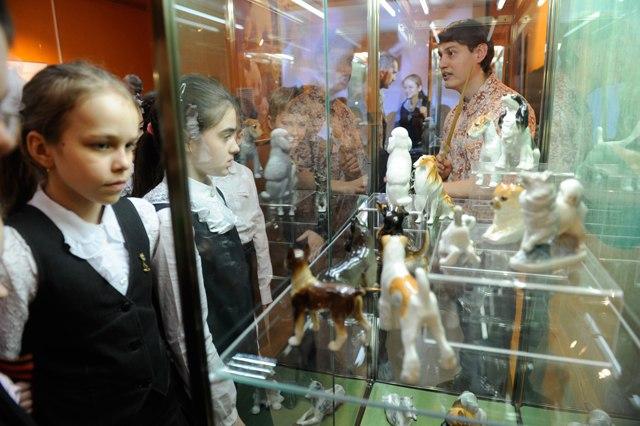 Выставка «Фарфоровая хрупкость фауны» в музее природы 02