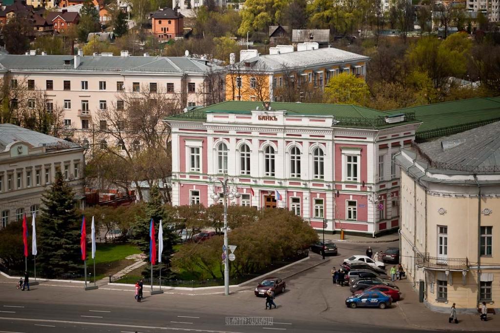 Город Владимир Вид с колокольни на 1 мая 07