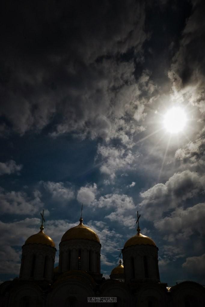 Город Владимир Вид с колокольни на 1 мая 18